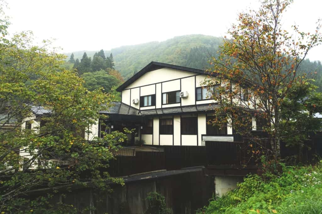 The ryokan Yunoyado Motoyu club