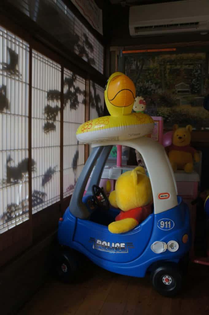 The Yonemura's grandchildren toys