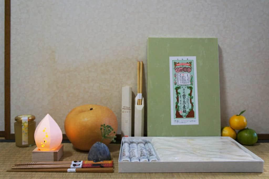 Many souvenirs from Northern Kumamoto