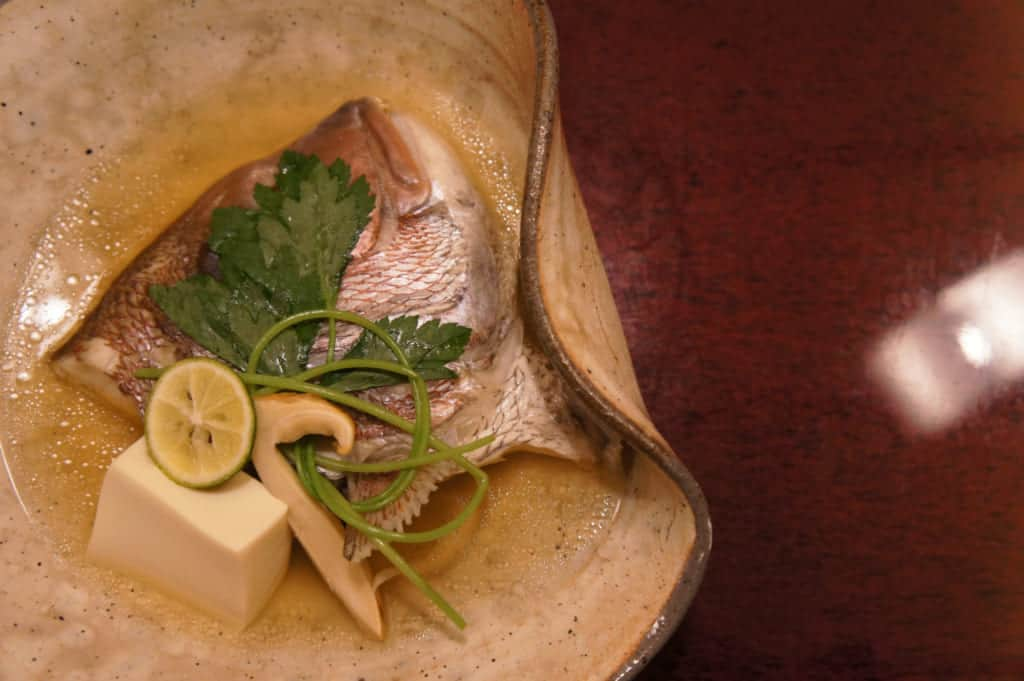 Simmered fish