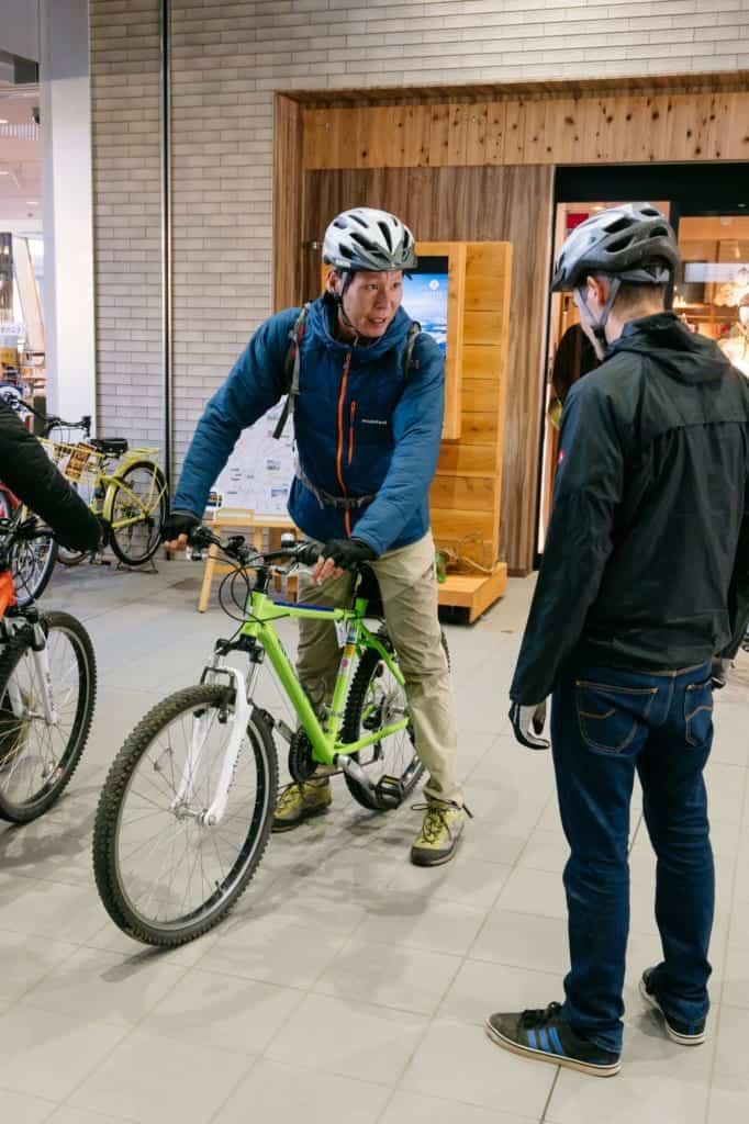 Our Cycling Tour Guide Kouhei