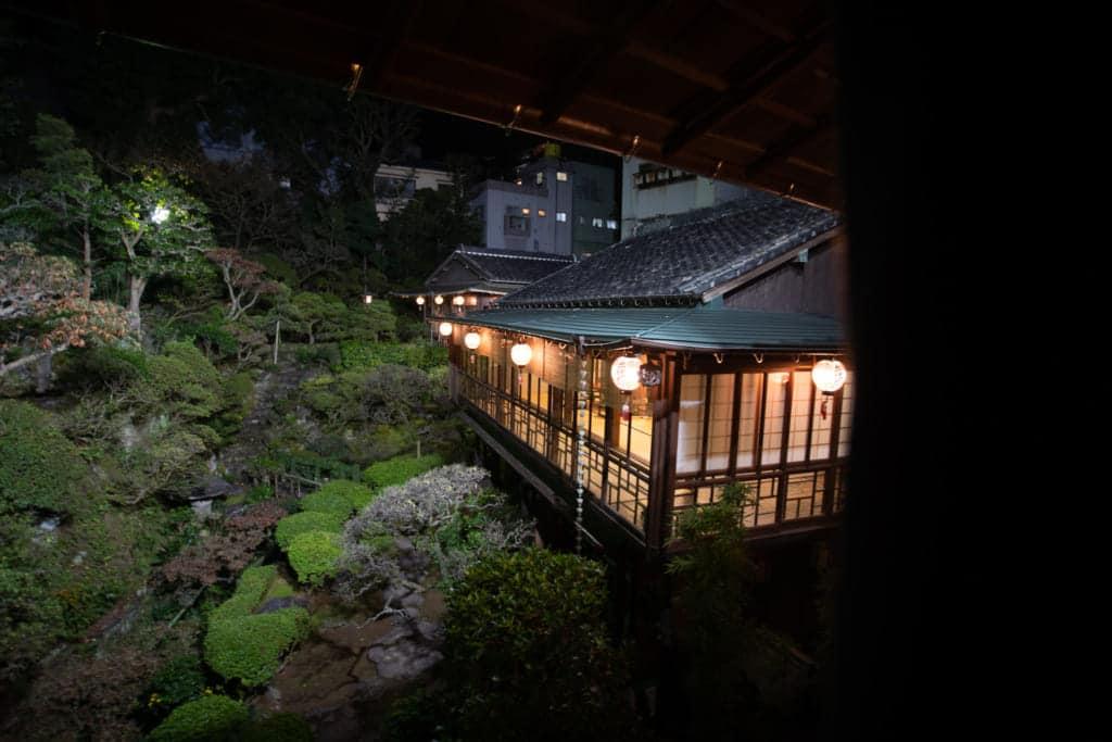 Kagetsu in Nagasaki City.