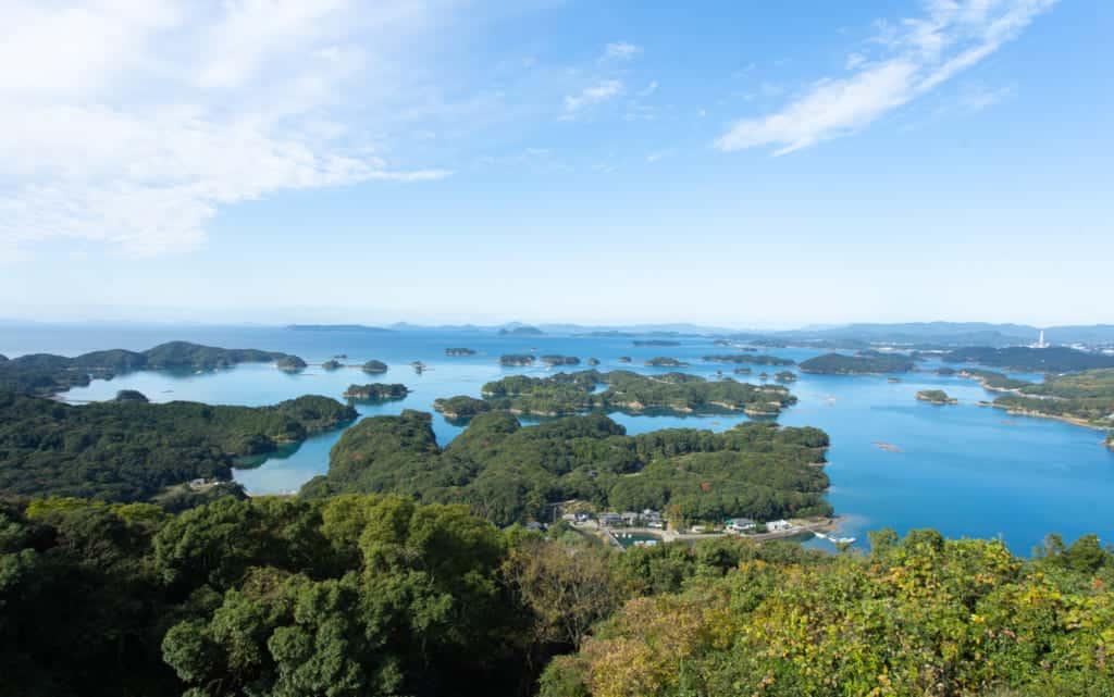 The 99 islands of Nagasaki.