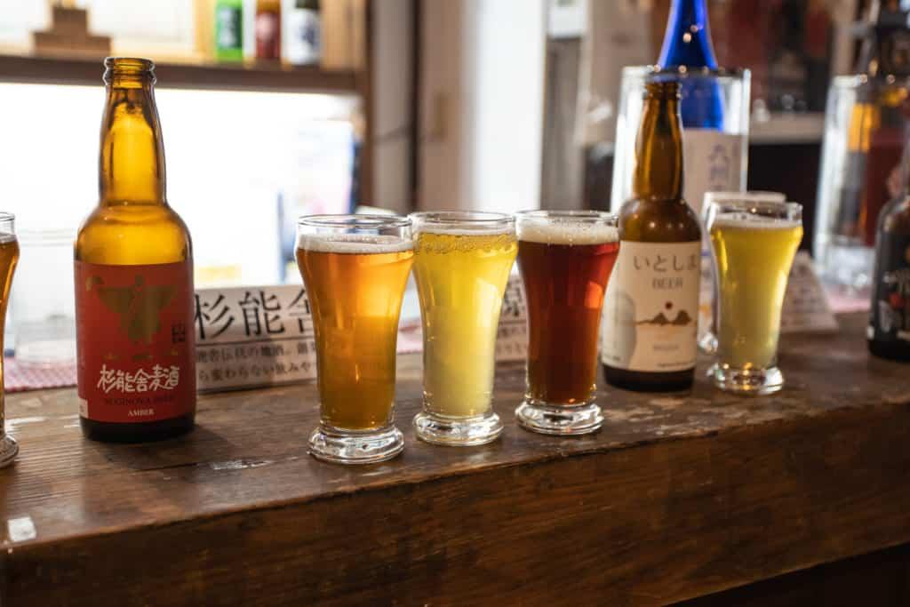 The Suginoya Brewery in Fukuoka City.