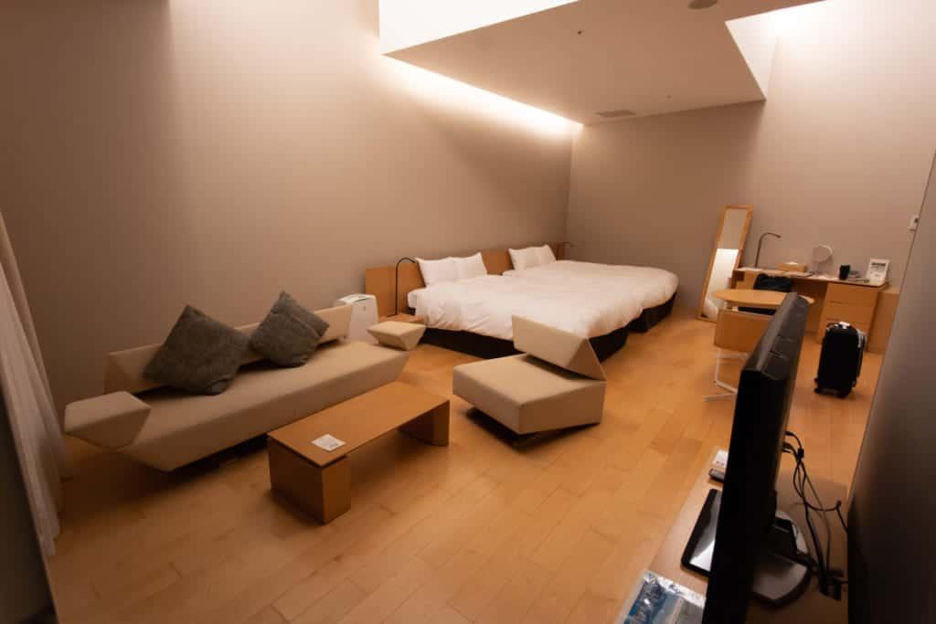 The rooms of Garden Terrace Nagasaki Hotel and Resort.