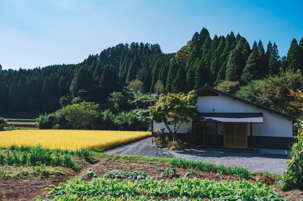 Paysage rural à à Minami-Oguni