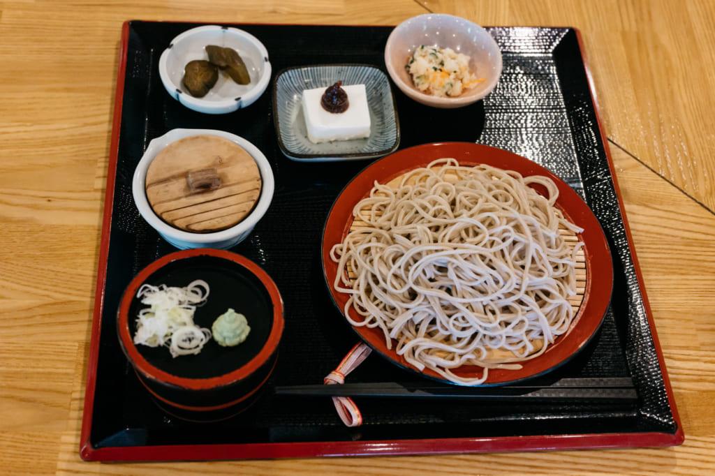 "menu ""Waremokou"" à Minami-Oguni , Waita Onsen"