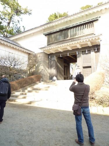 Entrada al Castillo de Odawara, en Hakone (Kanagawa)