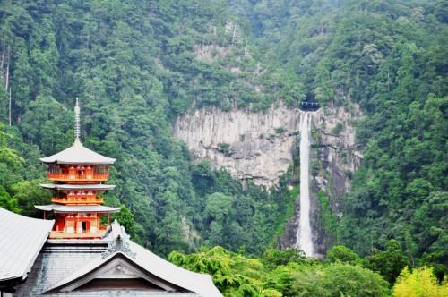 Kumano Nachi Taisha uno de los 'tres grandes templos' de Kumano son lo más destacable de la zona.