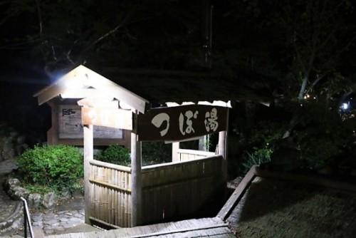 Tsuboyu: onsen mixto en Yunomine, Kumano