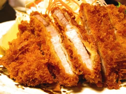 Comida 'tonkatsu', menú japonés