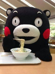 Mascota japonesa Kumamon de la ciudad de Kumamoto