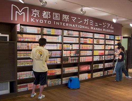 Compras japonesas: tienda de comics manga en Japón
