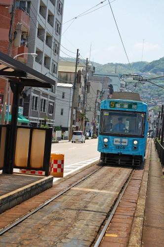 Estación de tren en Nagasaki