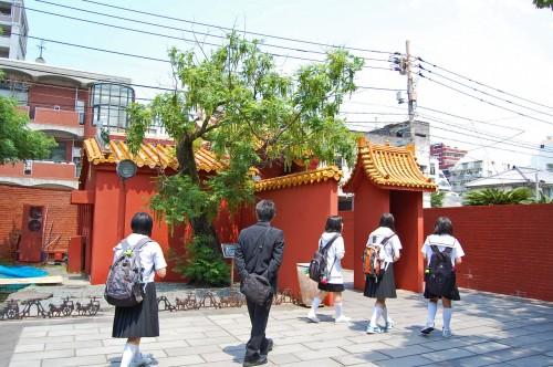 Entrada al Museo Histórico de China en Nagasaki