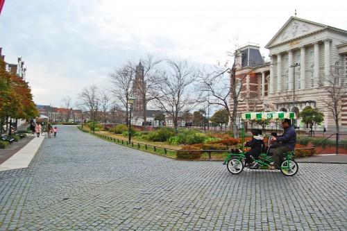 Calles de Huis Ten Bosch, parque temático holandés en Nagasaki