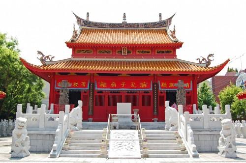 Salón Taisei del Templo Confucionista de Nagasaki