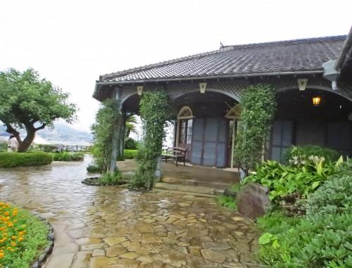 Antigua Residencia Glover en los jardines de Glover de Nagasaki