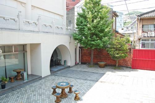 Tienda del Museo Histórico de China en Nagasaki