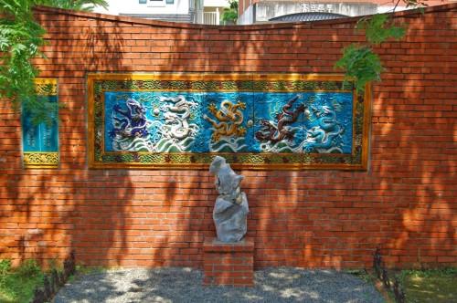 pared dragones nagasaki