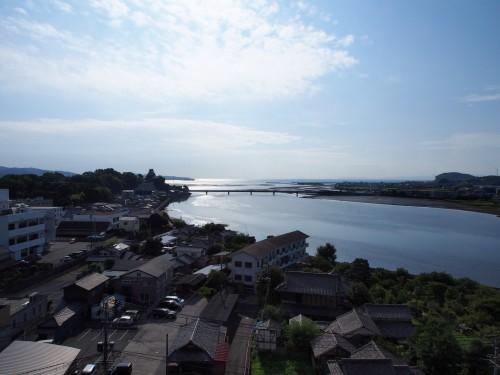 Paisaje marítimo Suya no Saka en Kitsuki, Oita.