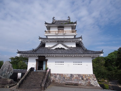 Castillo Kitsuki en Oita (Japón).