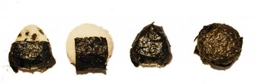 tipos de onigiri nori
