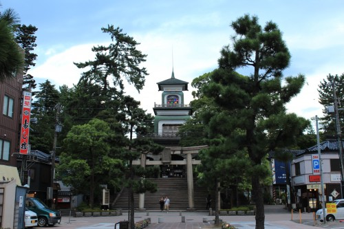 Santuario Oyama Jinja de Kanazawa
