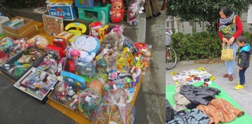 Mercadillos de segunda mano en Japón.