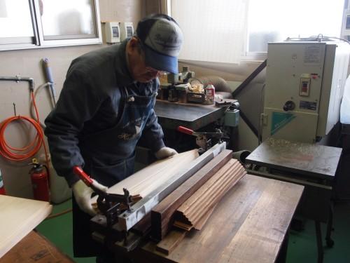 Proceso de fabricación de una guitarra Yairi