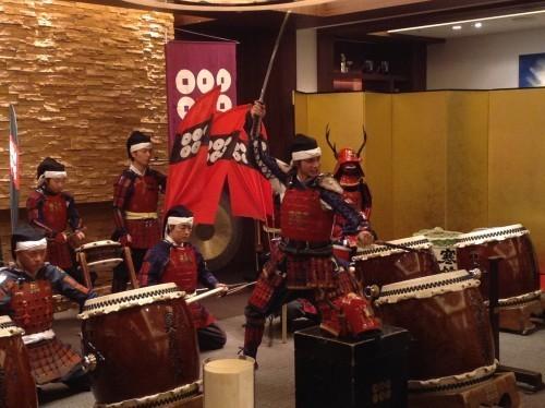 Percusión evento Cool Japan
