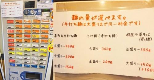 Máquina expendedora de tickets en un restaurante de ramen de Japón