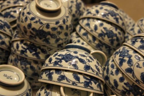 Boles de cerámica japonesa.