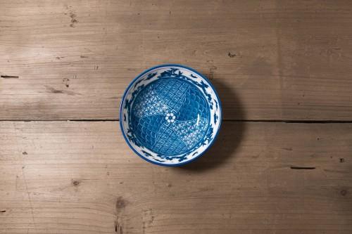 Bol realizado con cerámica japonesa.