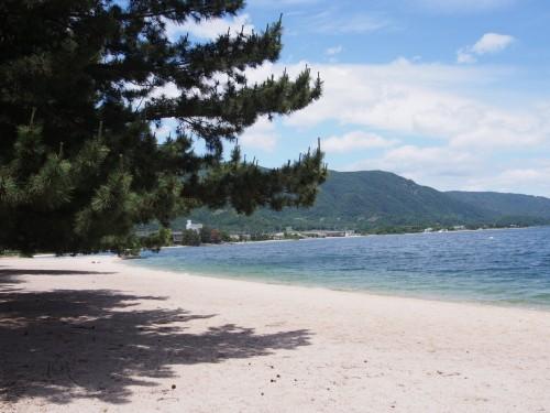 Playa Omi-Maiko, cerca de Kioto.