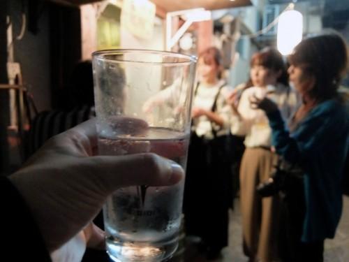 Copa de alcohol.