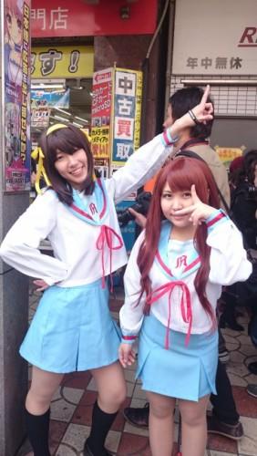 Haruism en el festival de cosplay de Osaka.