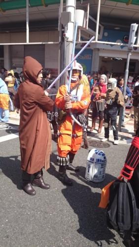 Star Wars en el festival de cosplay de Osaka.