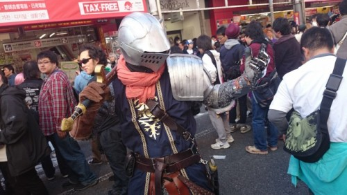 Dark Souls 3 en el festival de cosplay de Osaka.