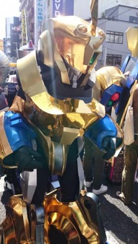 Disfraz en el festival de cosplay de Osaka.