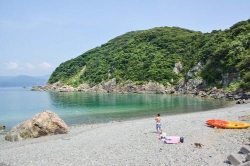 Playa de Fukashima (Oita).