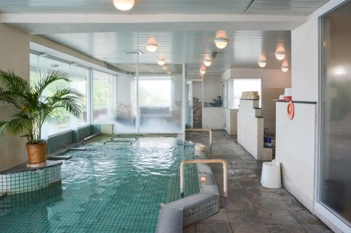 Onsen del hotel Sanyokan Hina-no-Sato.
