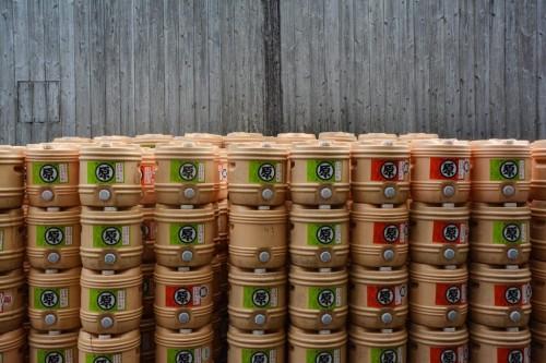 Fábrica de salsa de soja en Hita, Oita.