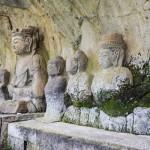 Tesoros de Oita: budas en piedra y jardín de loto de Usuki