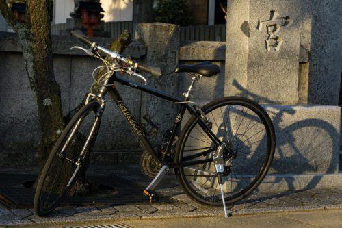 Bicicleta en Japón.