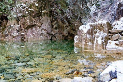 Río en el Cañón de Kakizore, Nagiso.