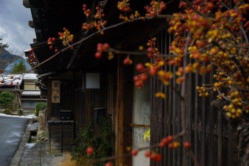 Tsumago, localidad de la época Edo en Nagiso.