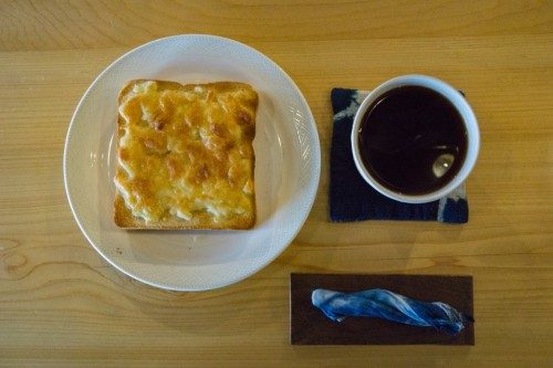 Desayuno en el Hotel Yuian de Nagiso.