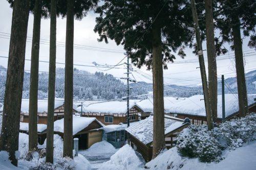 Takane (Japón) en invierno.