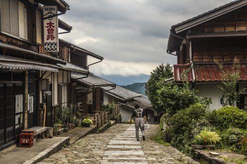 Along the Nakasendō, Gifu Prefecture, Japan